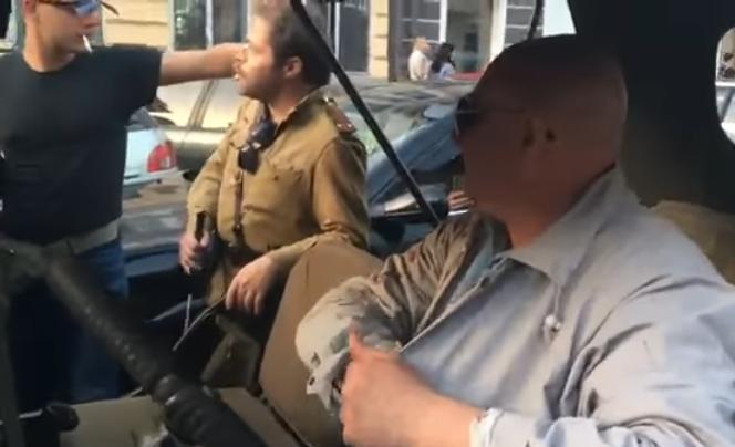 """Украинские шакалы напали на одесситов, """"посмевших"""" надеть советскую форму к 9 мая"""