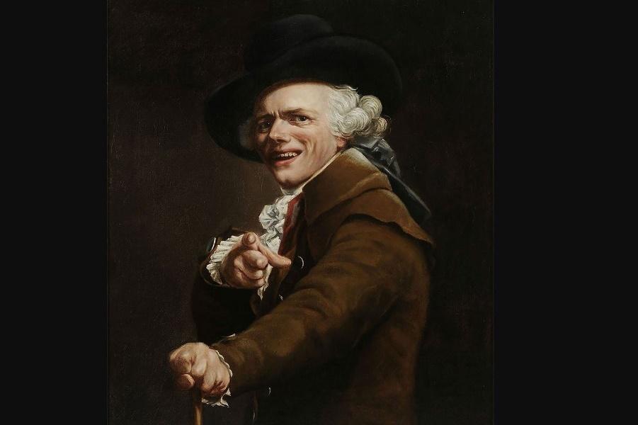 Художник с неортодоксальным стилем портретной живописи