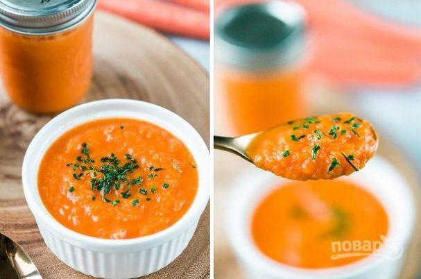 ДЕНЬ ПЕРВОГО БЛЮДА. Морковный суп-пюре в мультиварке