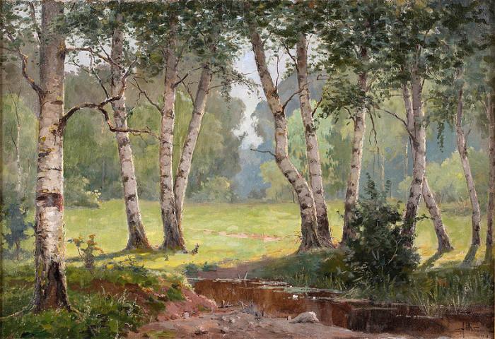 Автор картины – художник-пейзажист Шибанов Александр Борисович.