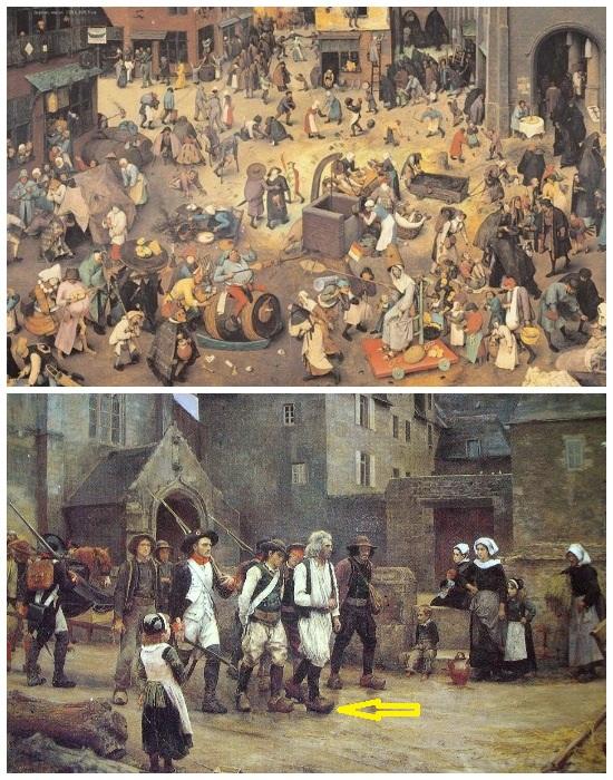 По улицам европейских городов можно было ходить только в деревянных башмаках.