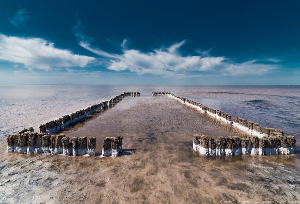 Соляные озера Эльтон и Баскунчак