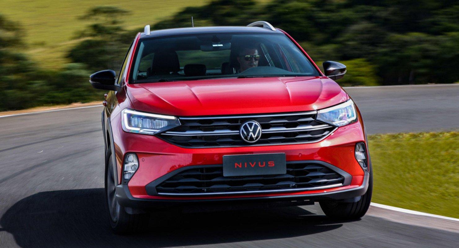 Новый кроссовер Volkswagen Nivus появится в Европе во 2-ой половине 2021 года Автомобили
