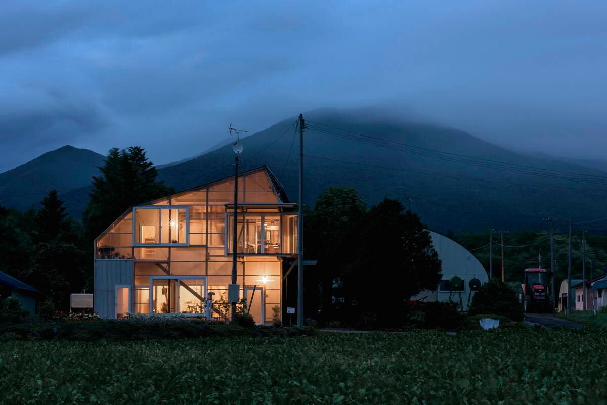 Необычные дома мира: Многослойный прозрачный дом архитектура,загородный дом,интерьер и дизайн,ремонт и строительство