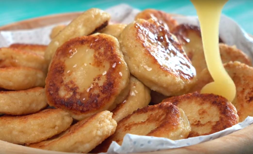 Овсяные сырники - простое блюдо к завтраку