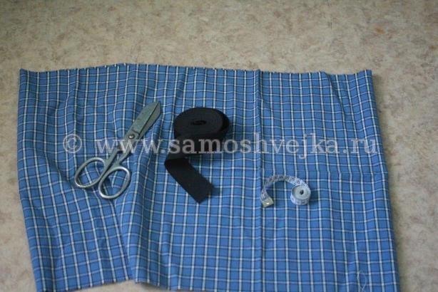 1db2b5c4e0c Как сшить юбку на резинке из прямоугольника за полчаса