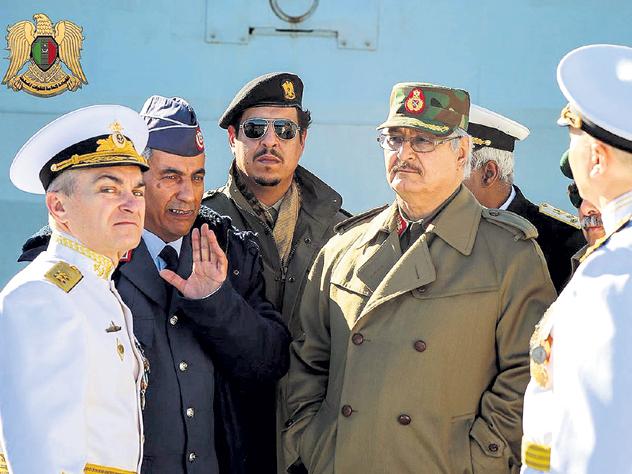 Россия берёт контроль над Ливией