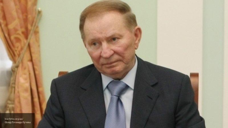 """Кучма призвал законодательно запретить на Украине """"стрельбу в ответ"""""""
