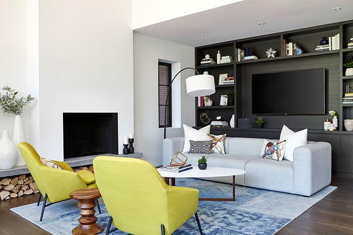 Стильный современный дом для семьи в Торонто