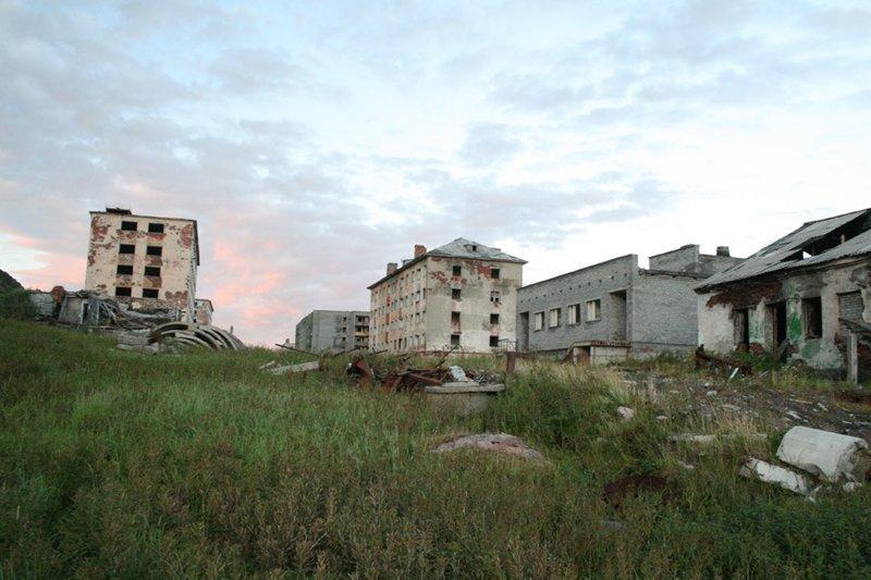 Города-призраки на карте России. Часть 8: Порт-Владимир город, заброшенное, россия, эстетика