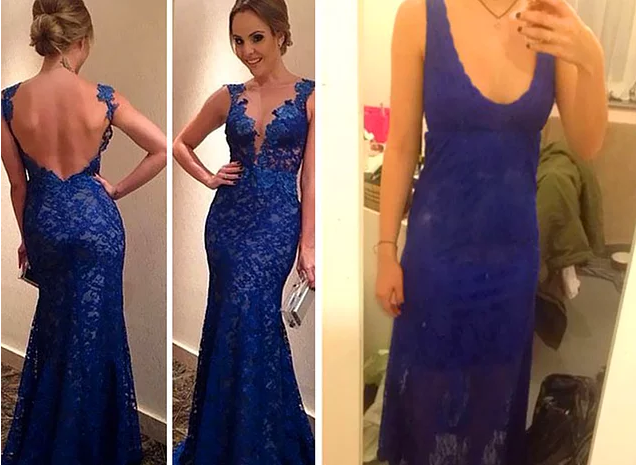 d3fc6fd3fb2c Ожидание и реальность  почему не стоит заказывать вечернее платье в  интернете