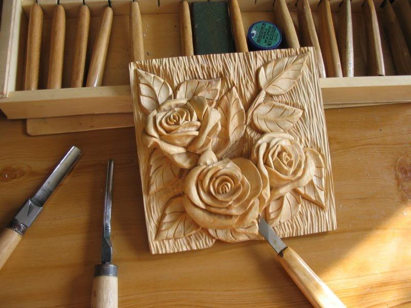 этом рецепте резьба по дереву роза картинки некоторых паромах