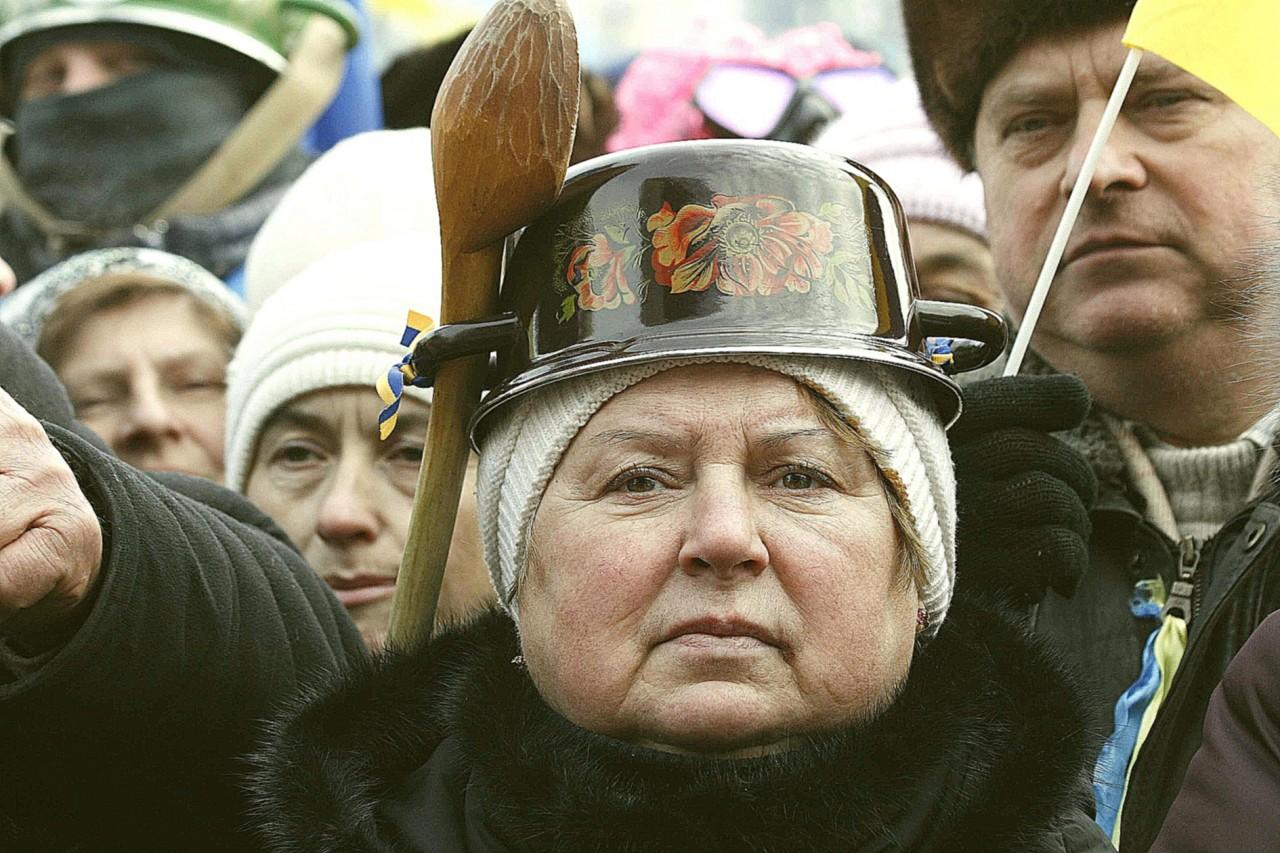 украинцы с кастрюлями на голове фото прогресс