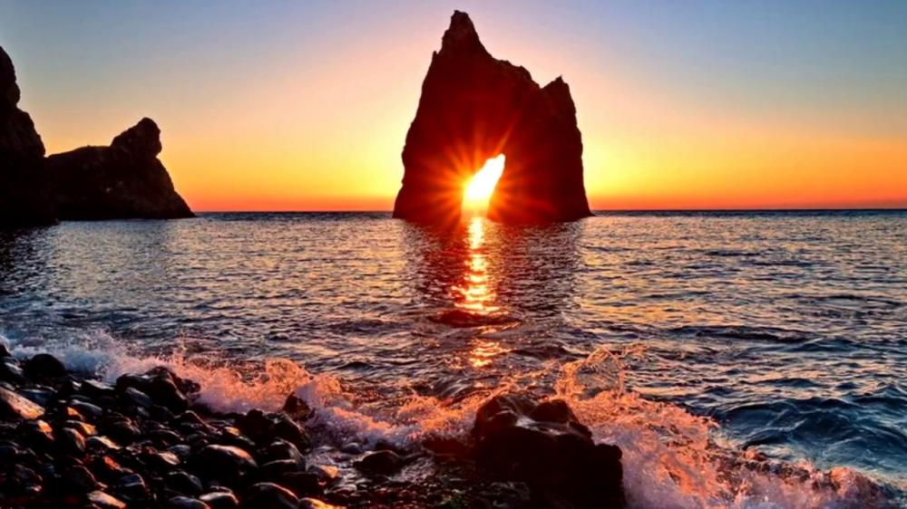 Самые фотогеничные морские скалы интересное