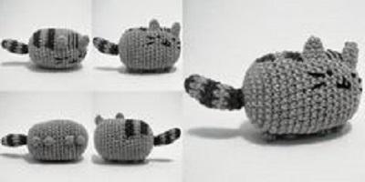 вязаный кот схема с описанием вязание крючком для начинающих кот