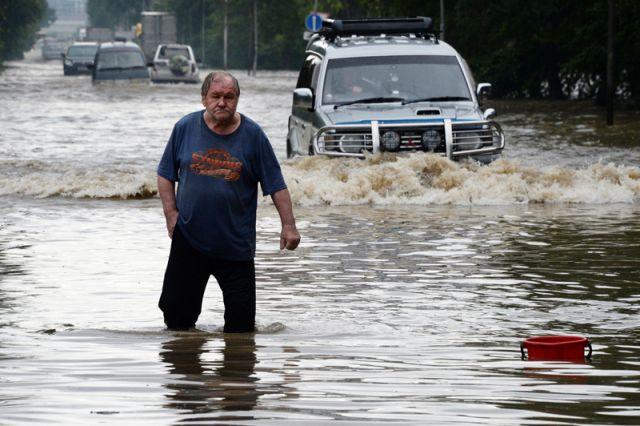 Кабмин выделил 1,9 млн рублей на помощь пострадавшим от паводка в Приморье