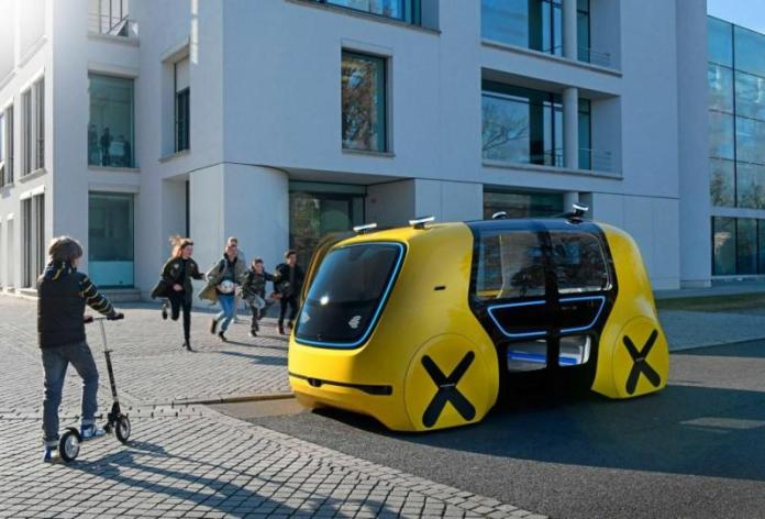 Volkswagen показал школьный автобус будущего