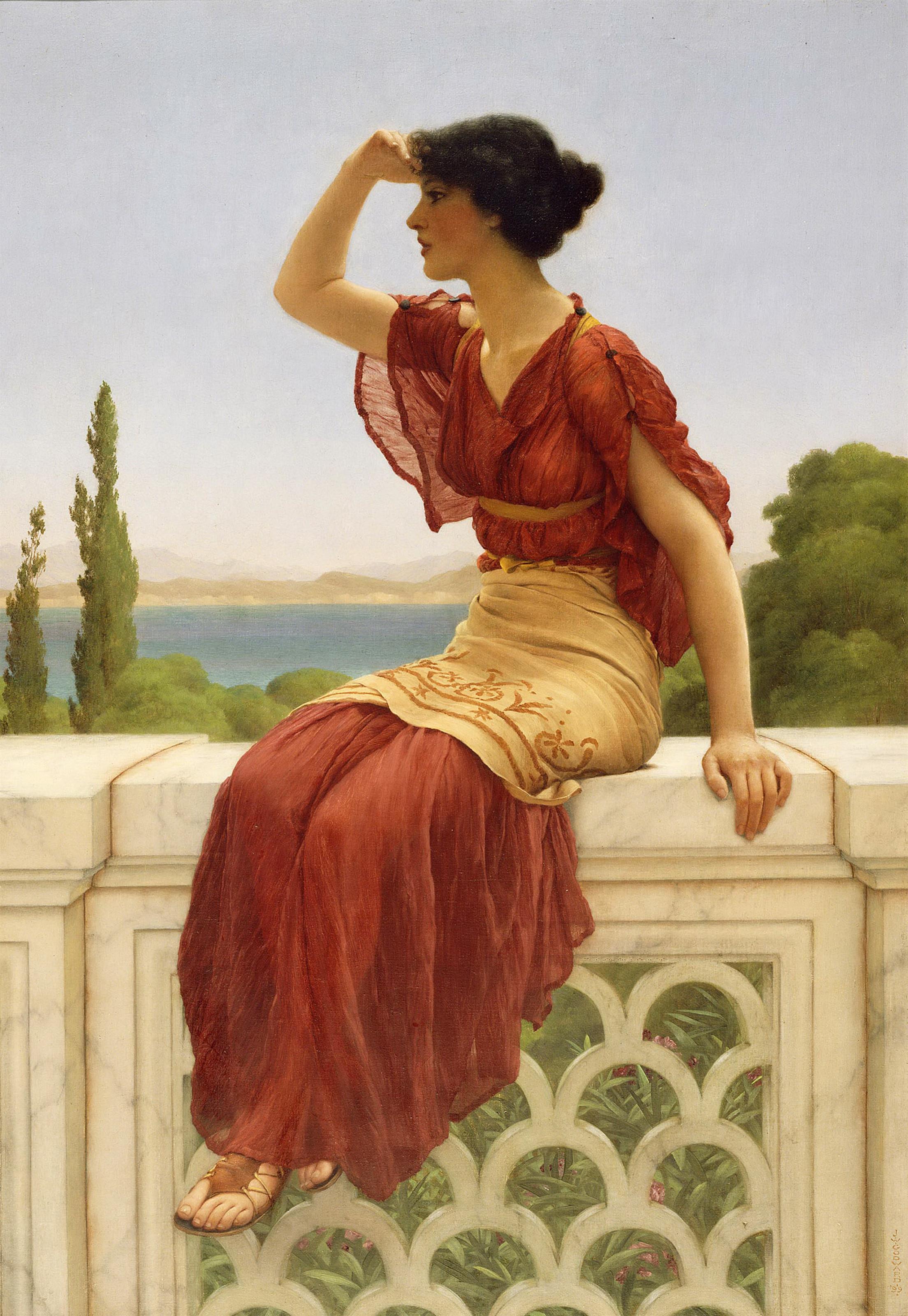 1899_Свидание (Лос-Анжелес, музей Пола Гетти)