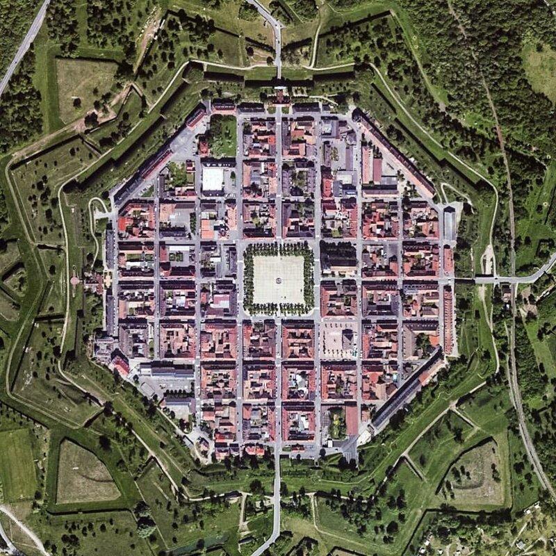 Загадки звездных бастионов, которые сверху выглядят круче, чем с земли артиллерия, бастионы, звездчатые крепости, интересное, исторические факты, сооружения, фортификация