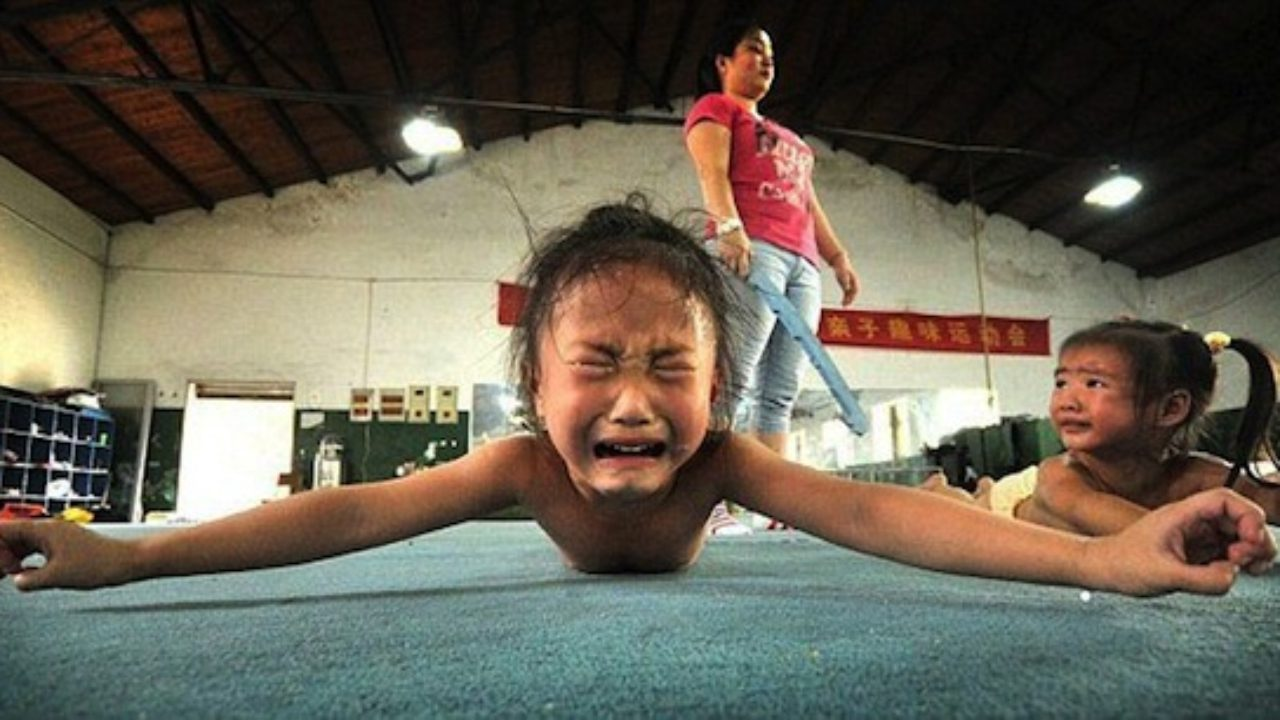 Нет детства из-за спорта дети,жизнь,спорт