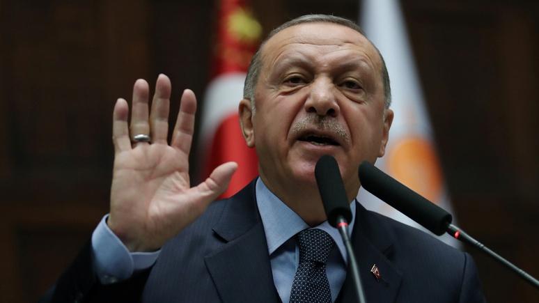 Guardian: Эрдоган осудил поз…