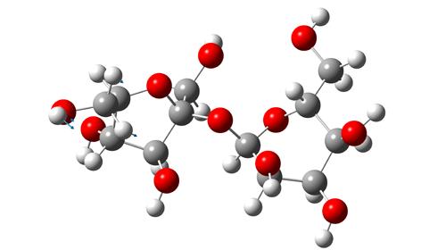 молекула сахарозы