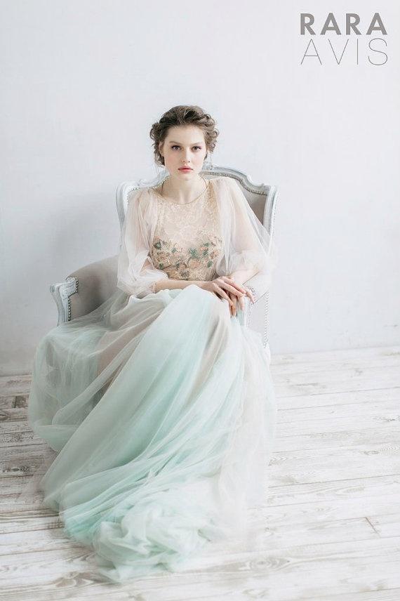 Волшебные свадебные платья Rara Avis