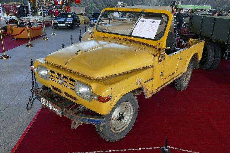 Уникальный спасенный внедорожник Москвич-415С, выпущенный в единственном экземпляре