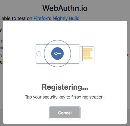 WebAuthn: пароли отменяются webauthn