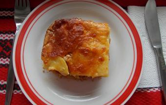 Картофельная запеканка со св…