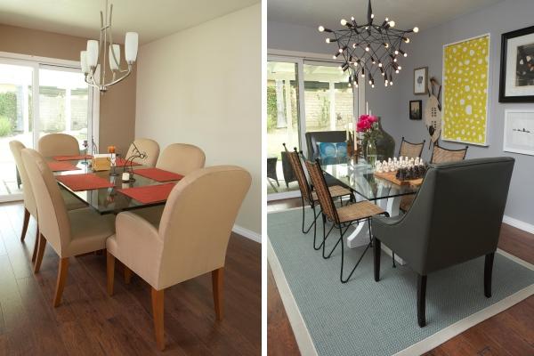 Интерьер частного дома до и после