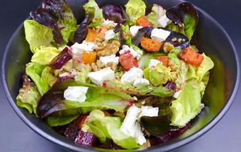 Салат из запеченных в духовке овощей