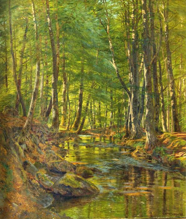 Автор картины – датский художник-пейзажист Йенсен Милтон (Jensen Milton).
