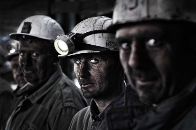 Во Львовской области шахтёры…
