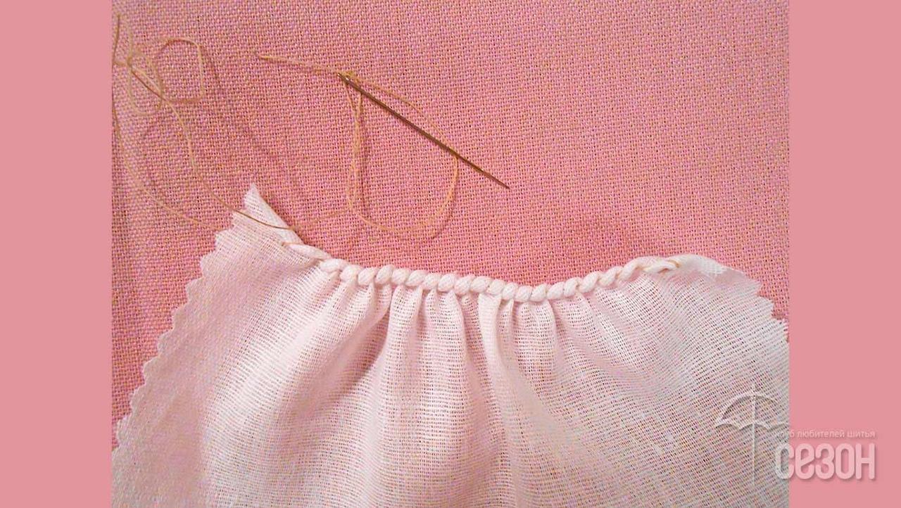 """Ручной шов """"закрутка"""" женские хобби,рукоделие,своими руками,шитье,шов"""