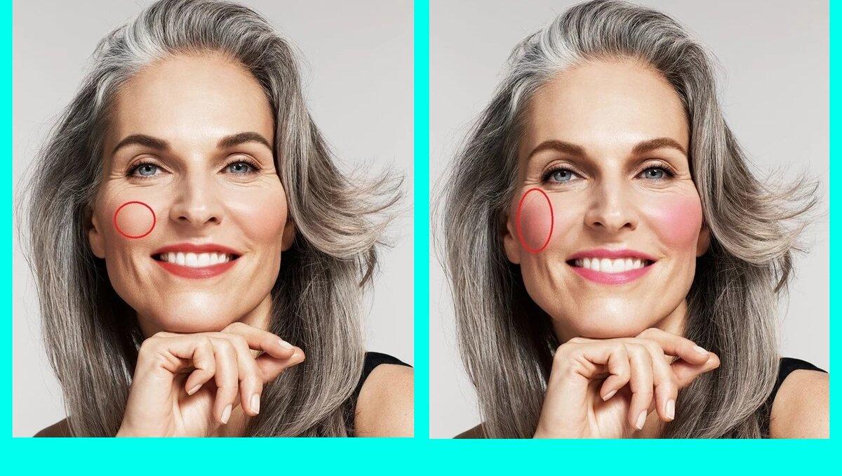 3 признака макияжа, говорящие, что женщина за 50 красится правильно внешность,косметика,красота,макияж,мода и красота,модные советы,стиль,стиль жизни