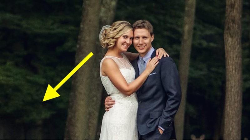 Никто не ожидал, что в разгар свадебной фотосессии на заднем плане появятся эти «ребята»...