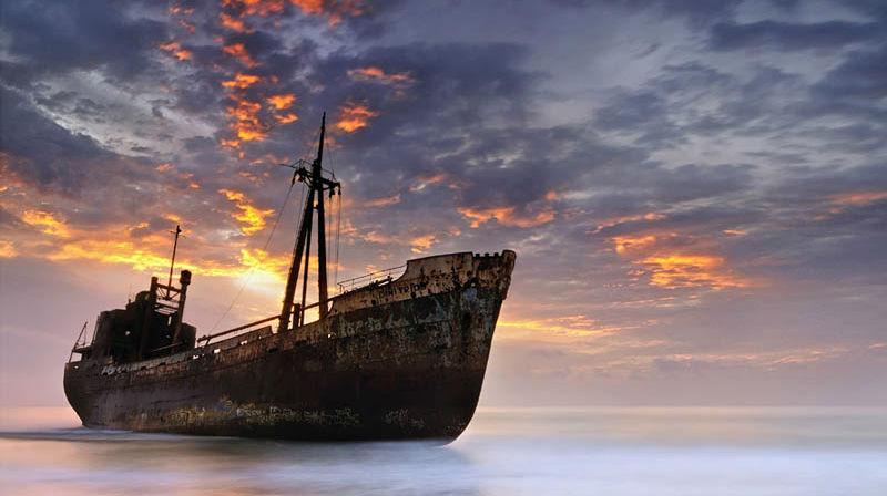 Заброшенные корабли со всего мира