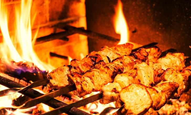 Шашлык из индейки: необычный маринад и советы по приготовлению мясные блюда