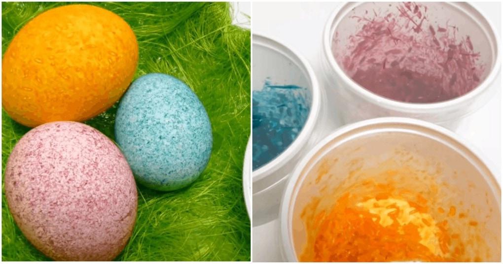 Покраска яиц при помощи риса: оригинальные способы — неожиданный результат