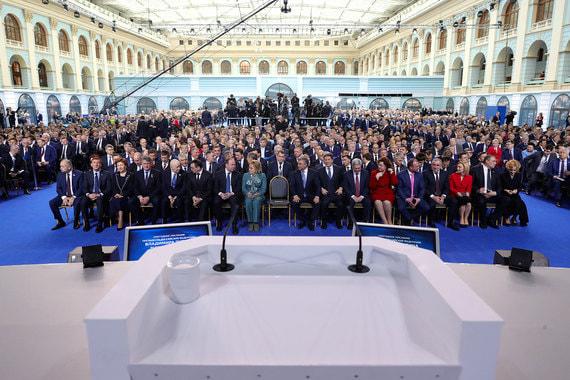 Кремль объяснил падение телерейтингов послания Путина