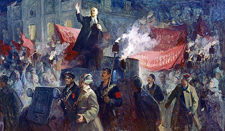 Октябрьская революция: мифы …