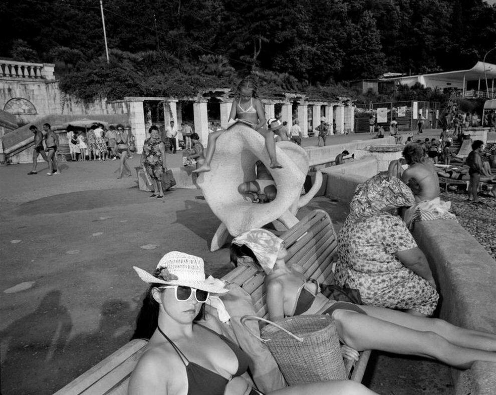 Пляж ссср картинки