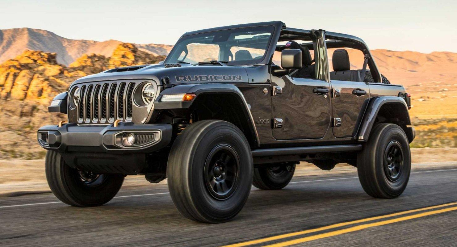 У новейшего Jeep Wrangler Rubicon разорвало двигатель Автомобили