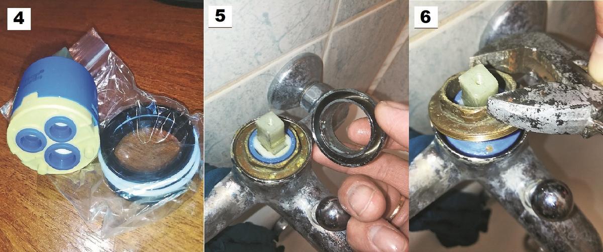 Ремонт водопроводного крана крана, картридж, пришлось, оказалось, картриджа, рукоятка, заменить, помощью, необходимо, этого, между, трубами, нового, рукоятки, повредить, случае, сделать, получилось, лучше, закрыть