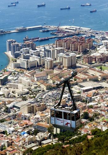 Гибралтар фото сверху
