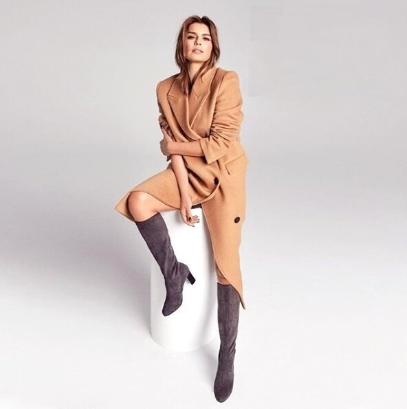 Самые «фотогеничные» сапоги на любую ногу и любой возраст мода,мода и красота,модные образы,обувь