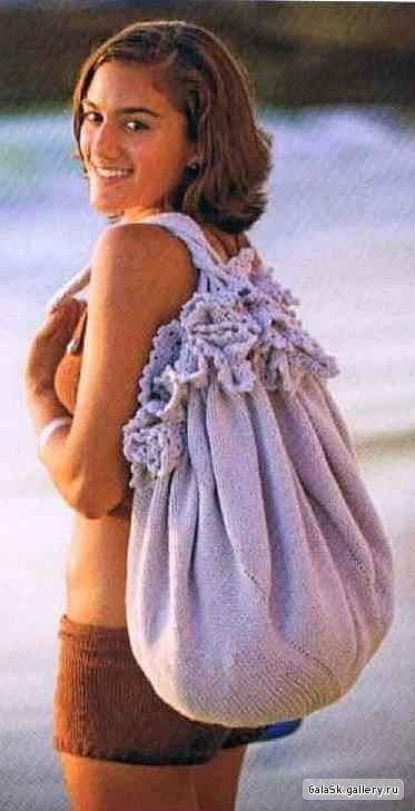 Классный пляжный коврик - сумка - трансформер