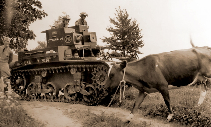 Грудь, оставившая след в армейской истории