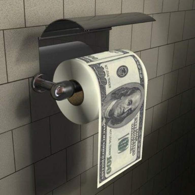 Для веселого времяпрепровождения: самая креативная туалетная бумага